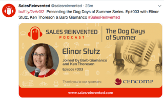 Sales Reinvented Summer Tips